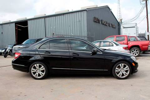 2010 Mercedes-Benz C-Class for sale at AUTO WORLD OF TEXAS in Houston TX