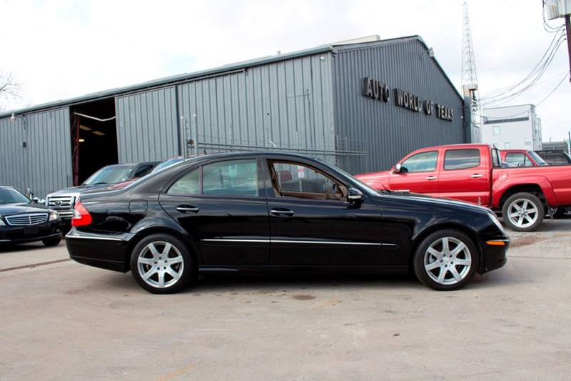2007 Mercedes-Benz E-Class for sale at AUTO WORLD OF TEXAS in Katy TX
