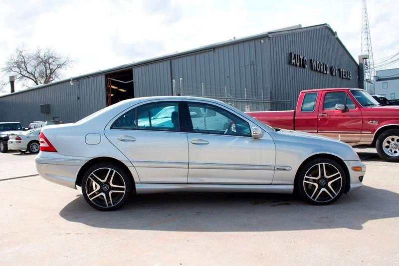 2006 Mercedes-Benz C-Class for sale at TEXAN RV, LTD   Dba. AUTO & RV WORLD OF TEXAS. in Katy TX