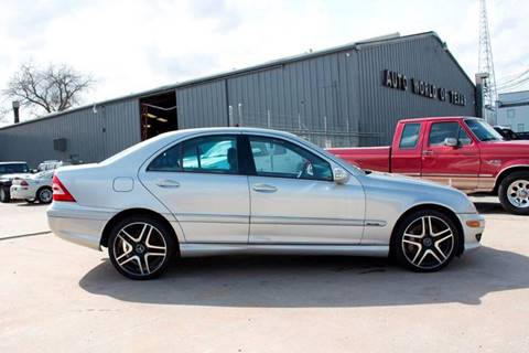 2006 Mercedes-Benz C-Class for sale at AUTO WORLD OF TEXAS in Houston TX