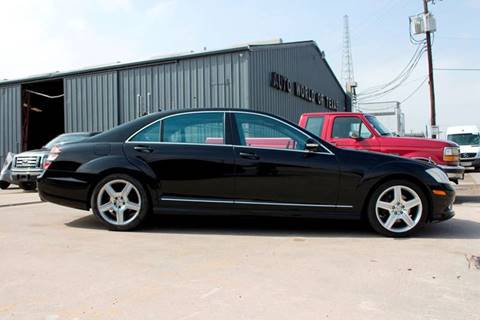 2009 Mercedes-Benz S-Class for sale at AUTO WORLD OF TEXAS in Houston TX