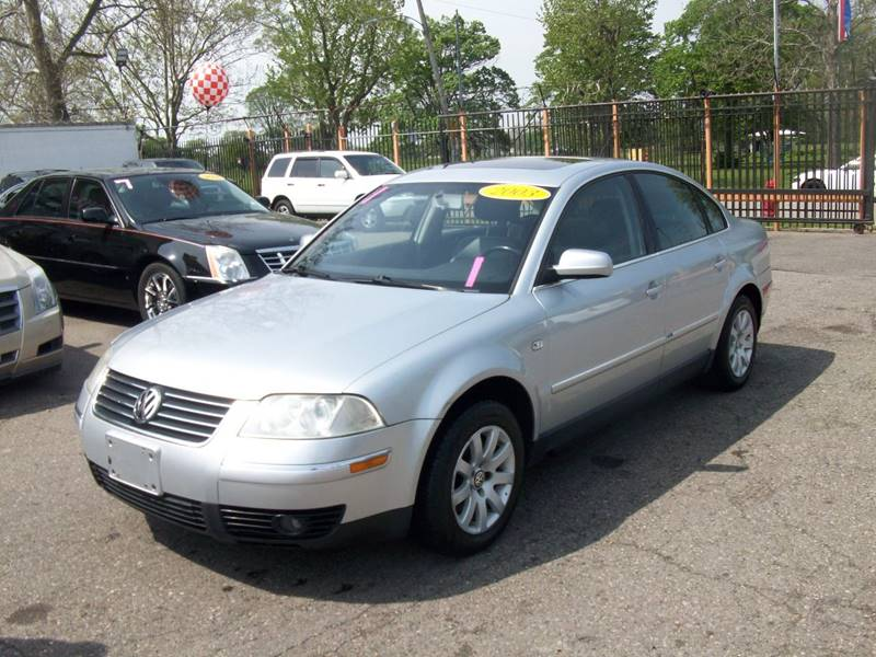 2003 Volkswagen Passat  Miles 0Color Silver Stock 3952b VIN WVWPD63B73P351079