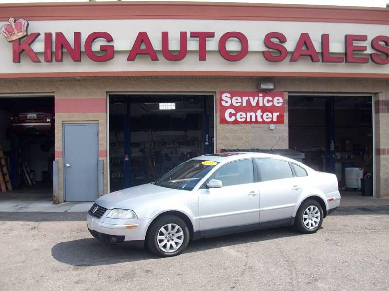 2003 Volkswagen Passat car for sale in Detroit