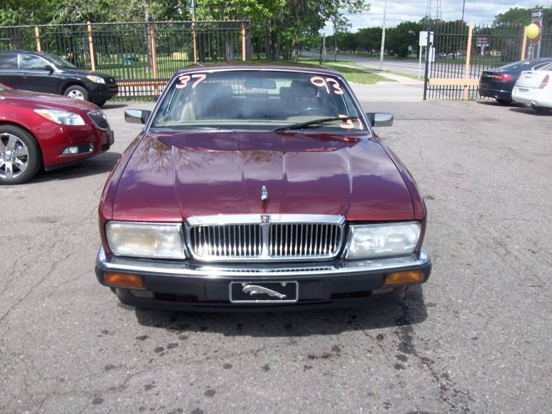 1993 Jaguar Xj-series  Miles 232978Color Red Stock 3960B VIN SAJHW1741PC674328