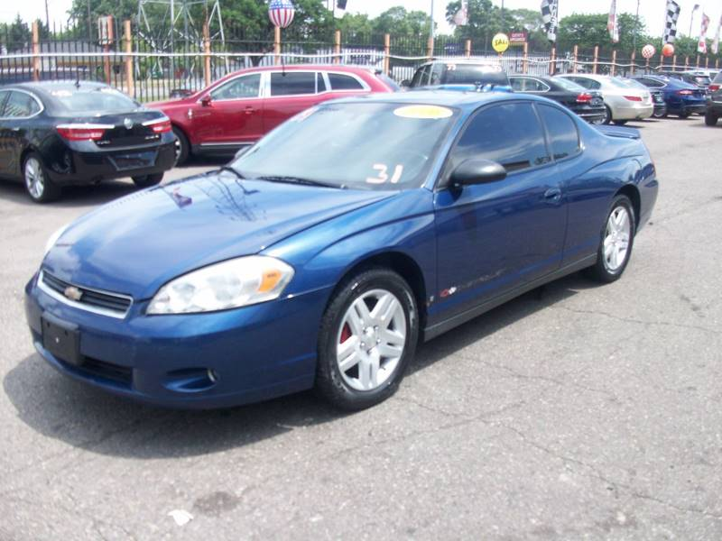 2006 Chevrolet Monte Carlo  Miles 173200Color Blue Stock 3961B VIN 2G1WK151369290706