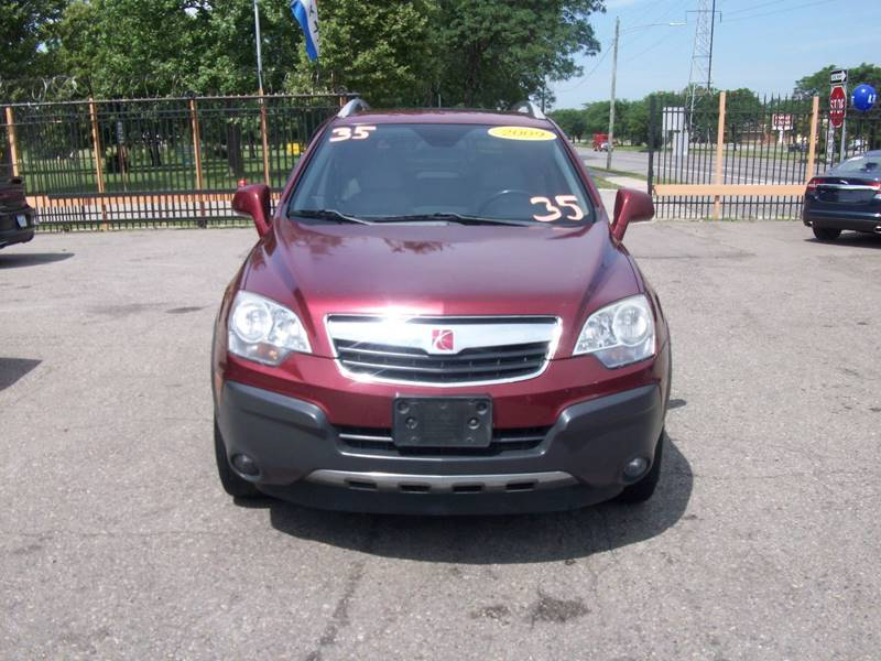 2009 Saturn Vue  Miles 105287Color Red Stock 3965B VIN 3GSDL43NX9S556267