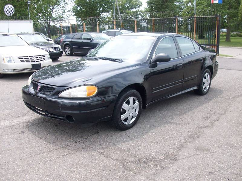 2003 Pontiac Grand Am car for sale in Detroit