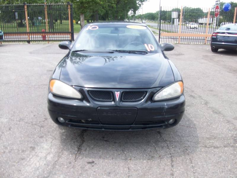 2003 Pontiac Grand Am  Miles 212817Color Black Stock 3966b VIN 1G2NE52F43C144888