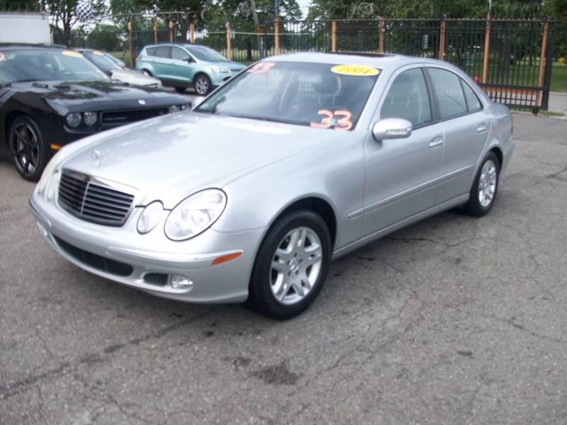 2004 Mercedes-Benz E-class car for sale in Detroit