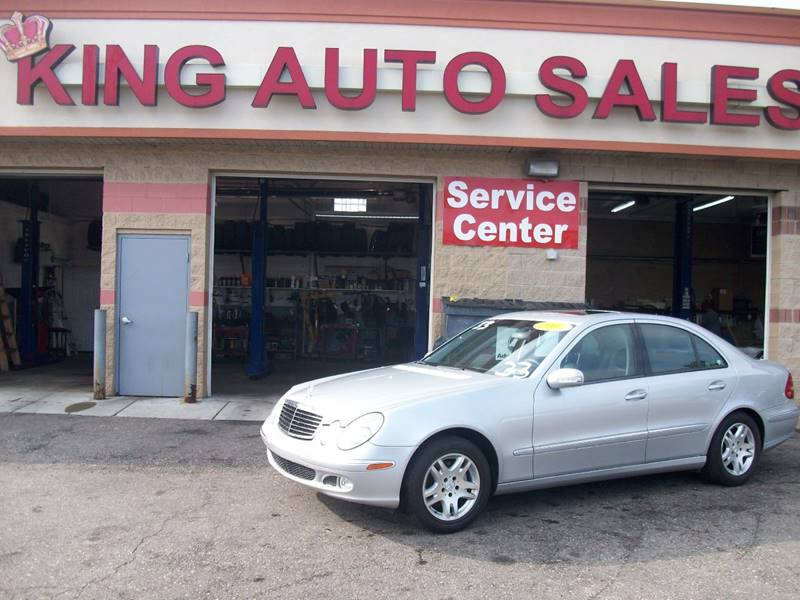 2004 Mercedes-Benz E-class car for sale in Detroit