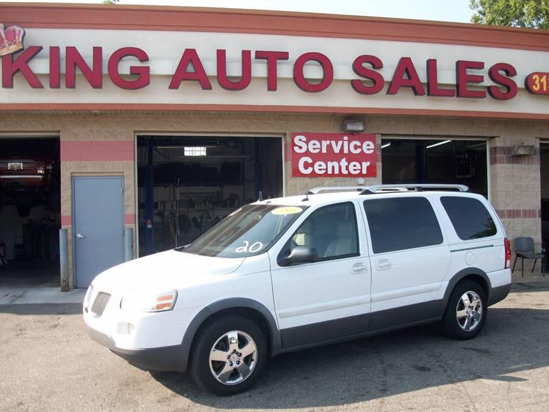 2005 Pontiac Montana Sv6 car for sale in Detroit