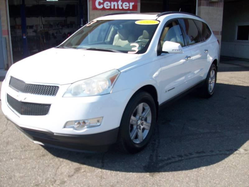 2009 Chevrolet Traverse  Miles 100322Color White Stock 3985B VIN 1GNEV23D99S115187