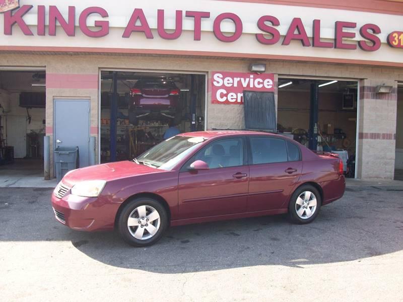 2007 Chevrolet Malibu car for sale in Detroit