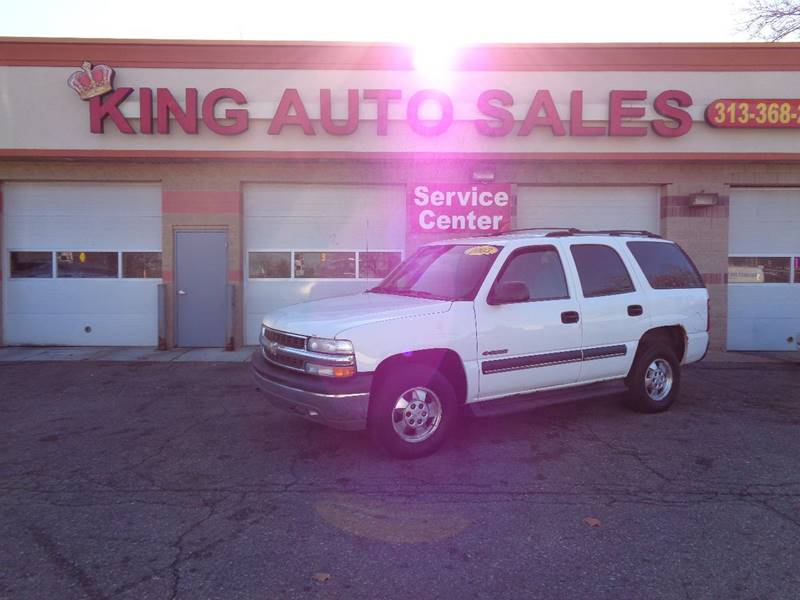 2003 Chevrolet Tahoe car for sale in Detroit