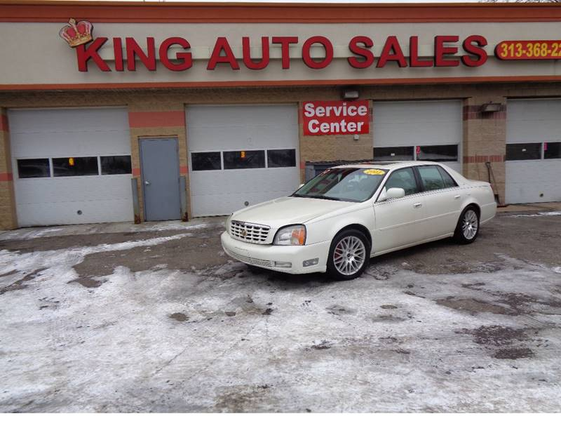 2003 Cadillac Deville car for sale in Detroit