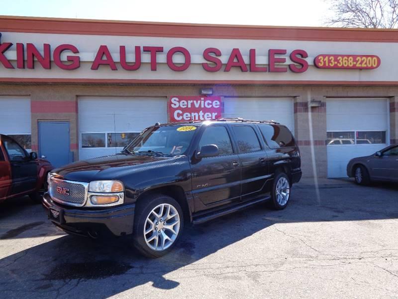 2004 Gmc Yukon Xl car for sale in Detroit