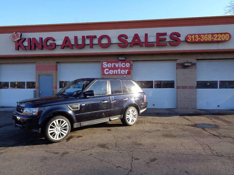 2010 Land Rover Range Rover Sport car for sale in Detroit