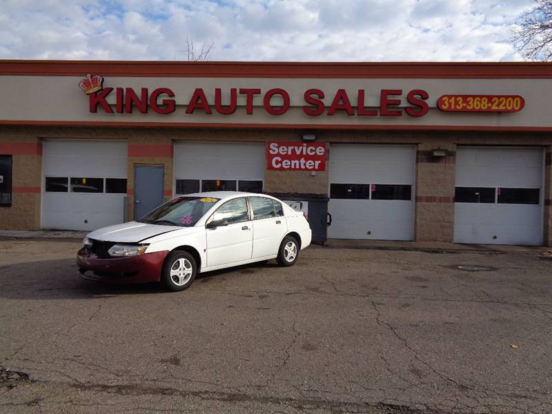 2004 Saturn Ion car for sale in Detroit