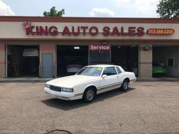 1986 Chevrolet Monte Carlo car for sale in Detroit