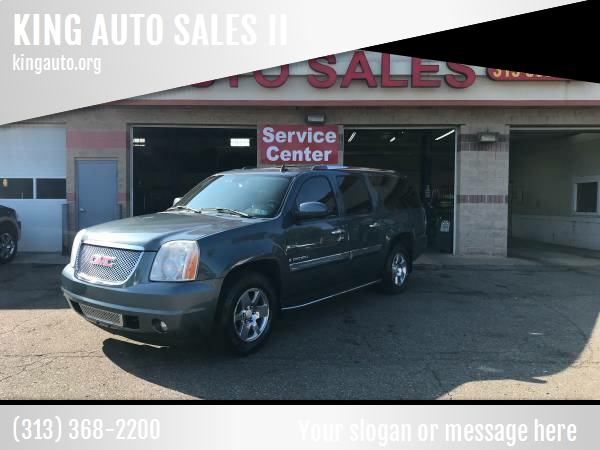 2007 Gmc Yukon Xl car for sale in Detroit