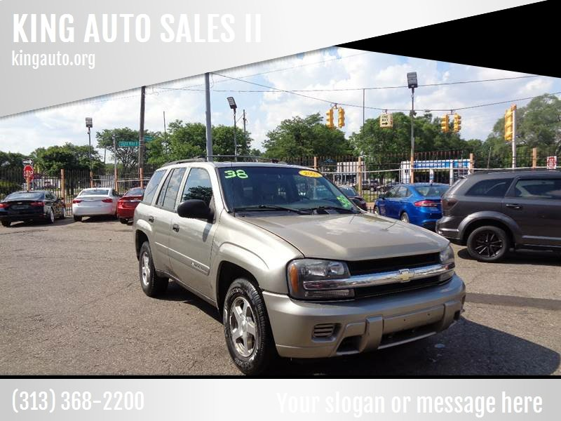 2003 Chevrolet Trailblazer car for sale in Detroit