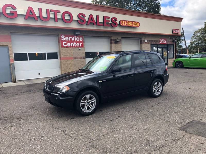 2005 Bmw X3 car for sale in Detroit