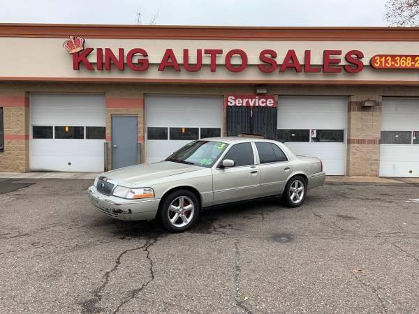 2003 Mercury Grand Marquis car for sale in Detroit