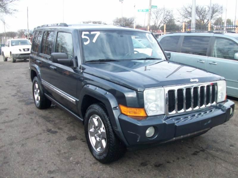 2006 Jeep Commander  Miles 110889Color Blue Stock 3669B VIN 1J8HG58276C364689