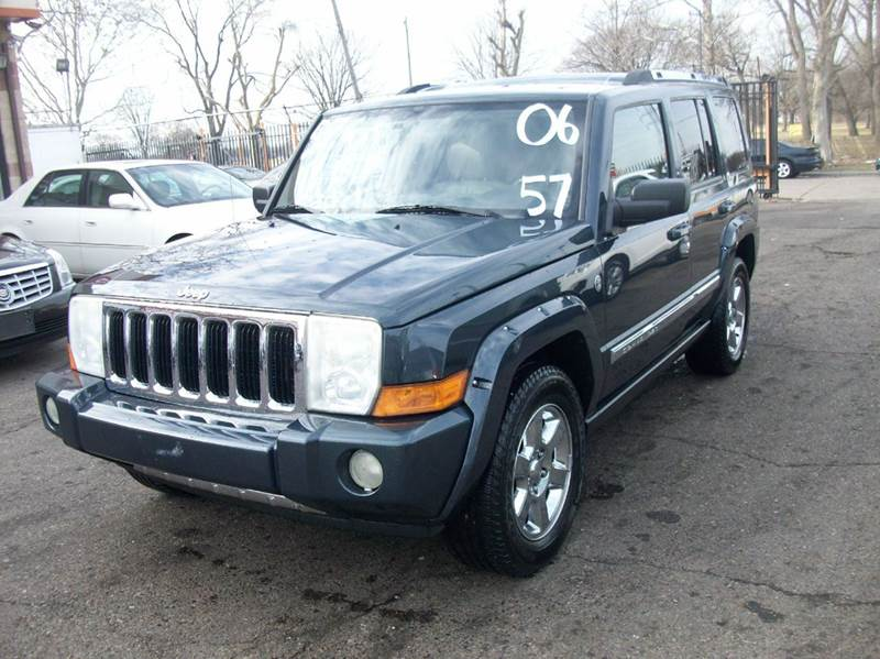 2006 Jeep Commander  Miles 110889Color Blue Stock 3669B VIN 1J8HG58276C364689
