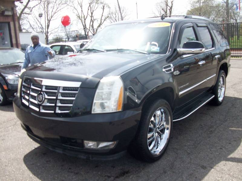 2007 Cadillac Escalade  Miles 128196Color Black Stock 3745b VIN 1GYFK63817R150210