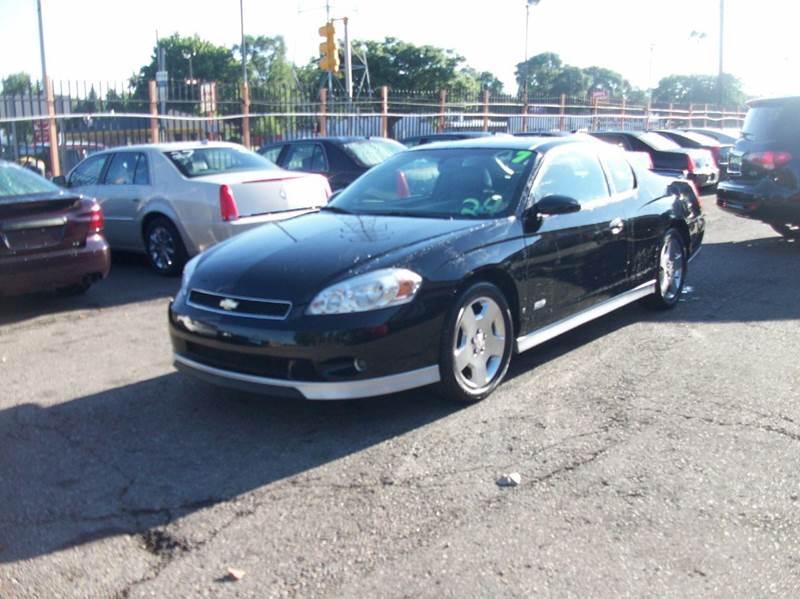 2007 Chevrolet Monte Carlo  Miles 101184Color BLACK Stock 3782B VIN 2G1WL16C879419439