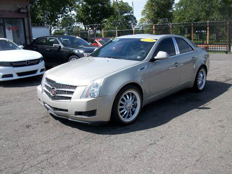 2008 Cadillac Cts  Miles 122195Color Gold Stock 3789B VIN 1G6DJ577180192798