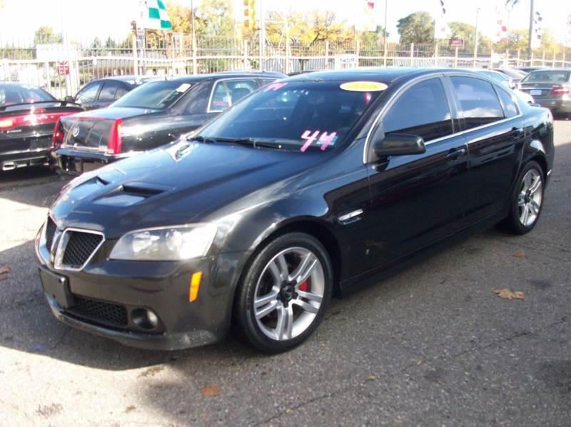 2008 Pontiac G8  Miles 120923Color Black Stock 3836B VIN 6G2ER57718L136697