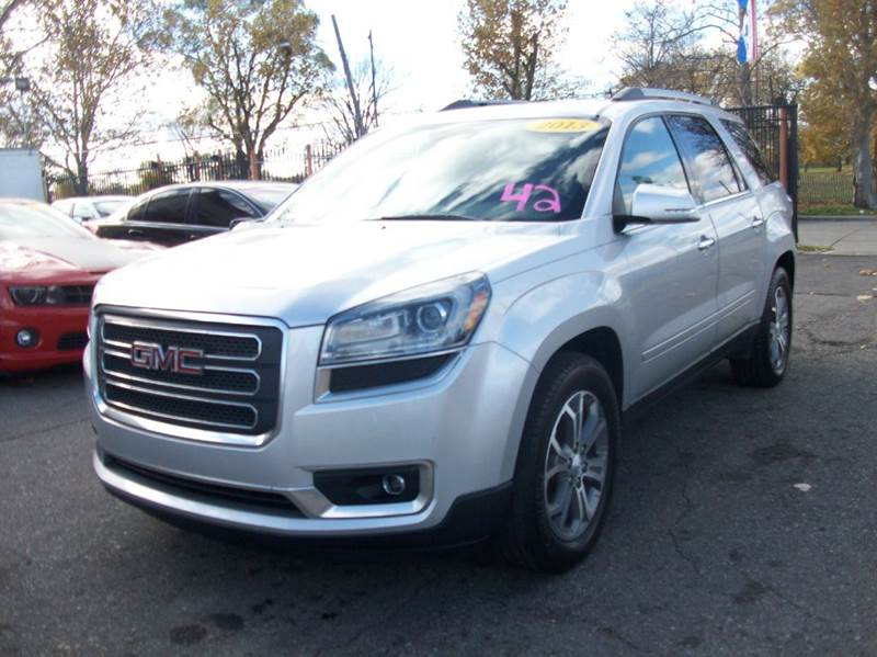 2013 Gmc Acadia  Miles 100924Color Gray Stock 3846B VIN 1gkkvrkd2dj153417