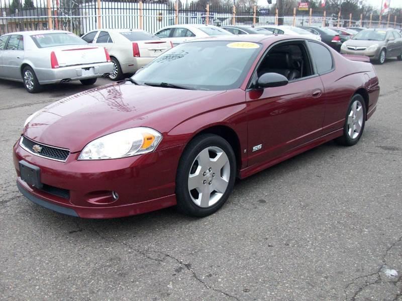 2007 Chevrolet Monte Carlo  Miles 92826Color MAROON Stock 3871B VIN 2G1WL16C879382201