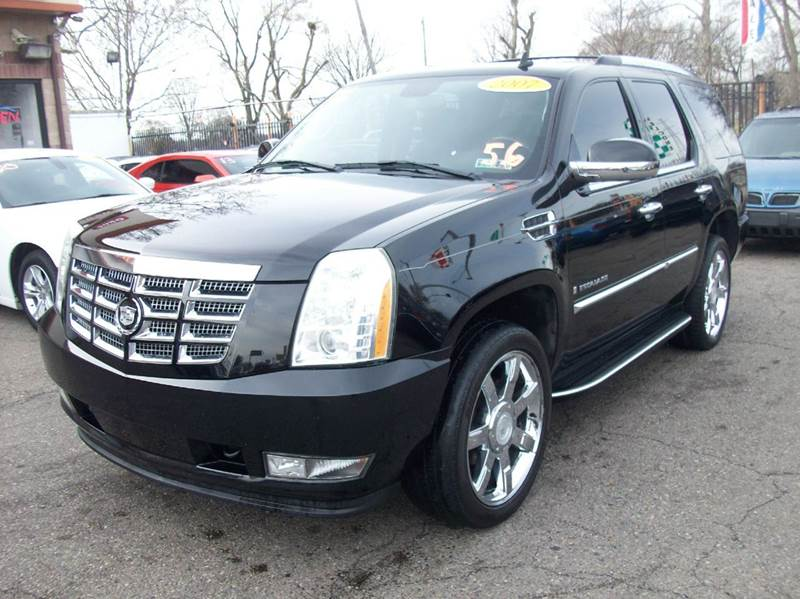 2007 Cadillac Escalade  Miles 107814Color BLACK Stock 3873B VIN 1GYFK63807R192836