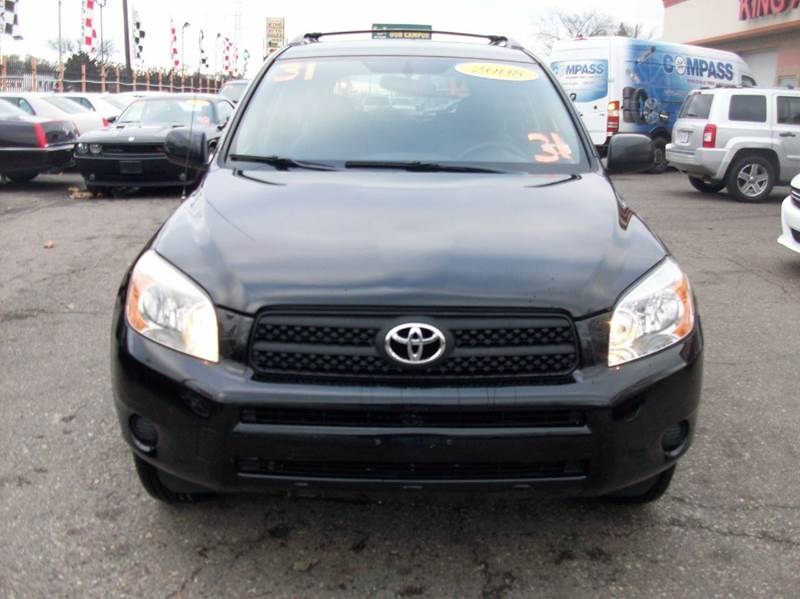 2008 Toyota Rav4  Miles 131108Color black Stock 3883b VIN JTMZD33V086060972