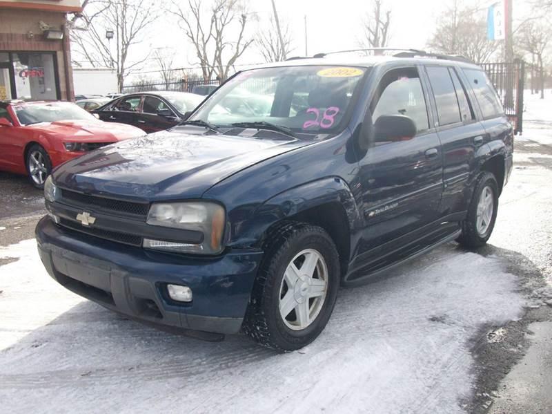 2002 Chevrolet Trailblazer  Miles 178658Color BLUE Stock 3888B VIN 1GNDT13S522300370