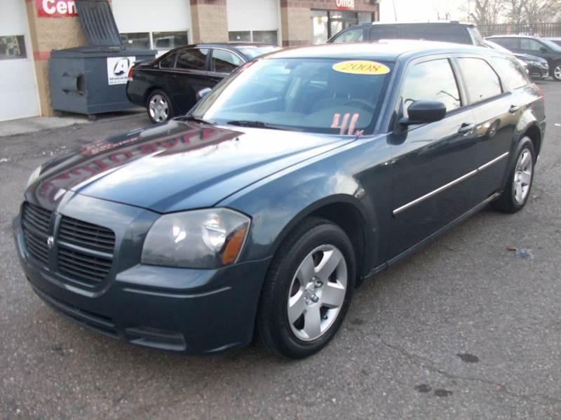 2008 Dodge Magnum  Miles 123159Color Blue Stock 3902B VIN 2D4FV47T38H252080