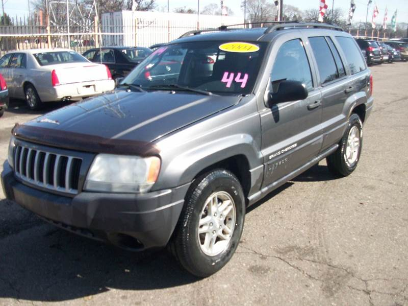 2004 Jeep Grand Cherokee  Miles 162354Color Grey Stock 3933B VIN 1j4gw48s14c152166