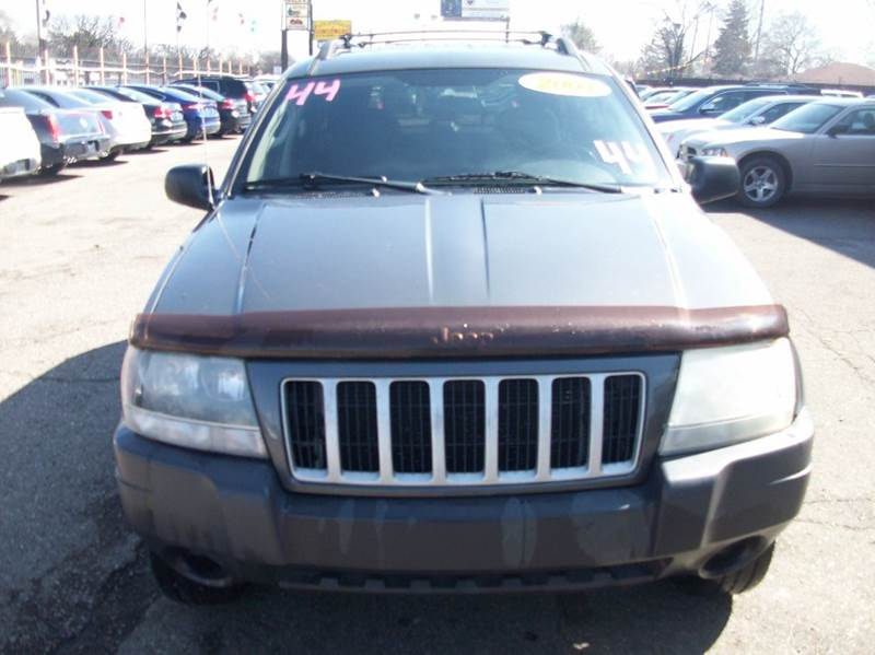 2004 Jeep Grand Cherokee  Miles 162354Color Grey Stock 3933B VIN 1j4gw48s14c152166