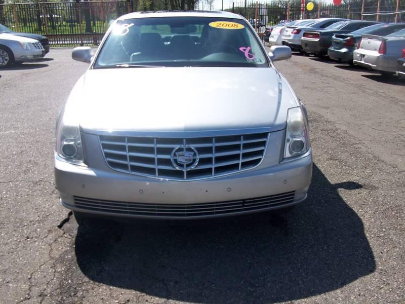 2008 Cadillac Dts  Miles 82600Color Gray Stock 3938b VIN 1G6KD57Y98U178115