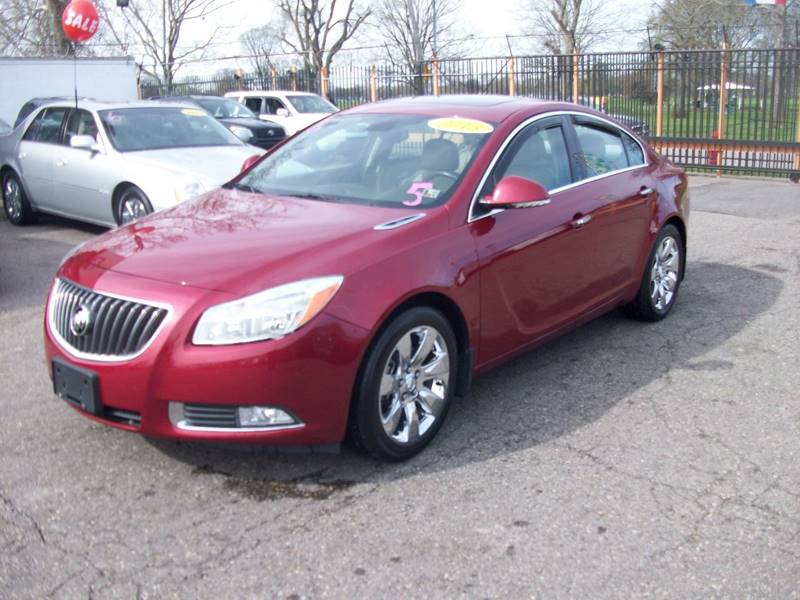 2013 Buick Regal  Miles 114700Color Red Stock 3939B VIN 2G4GS5EV9D9210243