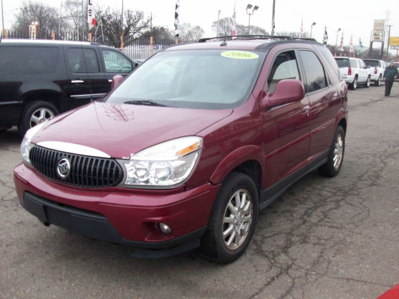 2006 Buick Rendezvous  Miles 163939Color Red Stock 3735B VIN 3G5DA03L76S587133