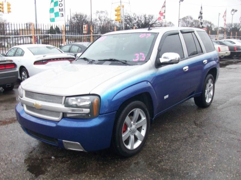 2007 Chevrolet Trailblazer  Miles 113212Color Blue Stock 3942b VIN 1GNET13H872129906