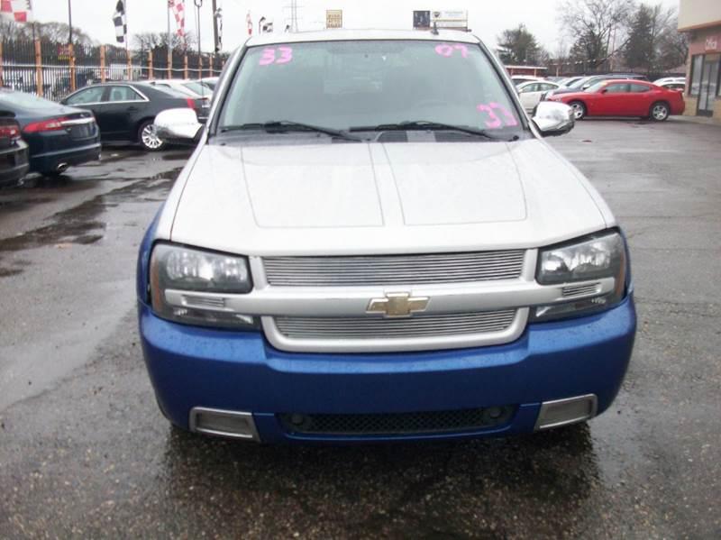 2007 Chevrolet Trailblazer  Miles 113212Color Blue Stock 3942b VIN 1GNET13H872129906