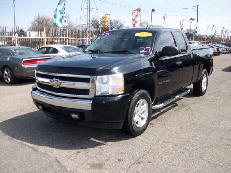 2007 Chevrolet Silverado 1500  Miles 131774Color Black Stock 3944b VIN 2gcec19c771580863