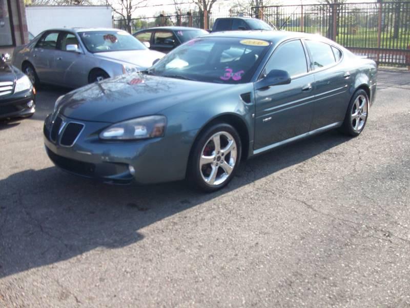 2006 Pontiac Grand Prix  Miles 103985Color Blue Stock 3946B VIN 2G2WC58C061133498