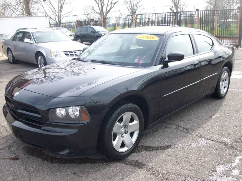2008 Dodge Charger  Miles 182047Color Black Stock 3947B VIN 2B3KA43R68H326112