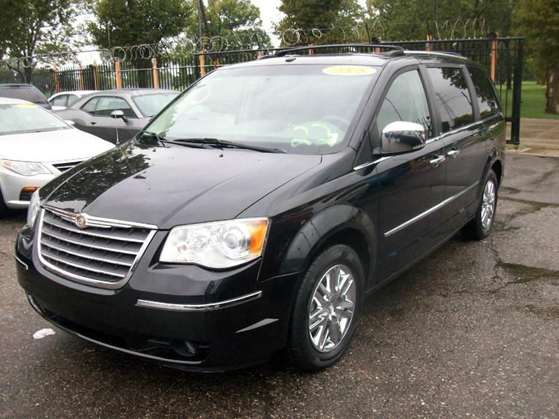 2008 Chrysler Town  Country  Miles 92579Color Black Stock 3809B VIN 2A8HR64X78R739170